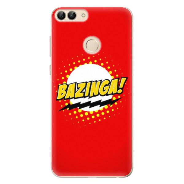 Odolné silikonové pouzdro iSaprio - Bazinga 01 - Huawei P Smart