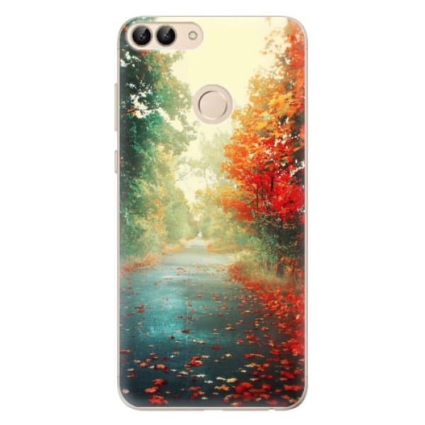 Odolné silikonové pouzdro iSaprio - Autumn 03 - Huawei P Smart