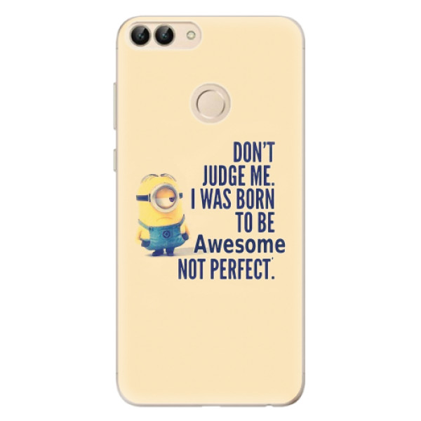 Odolné silikonové pouzdro iSaprio - Be Awesome - Huawei P Smart