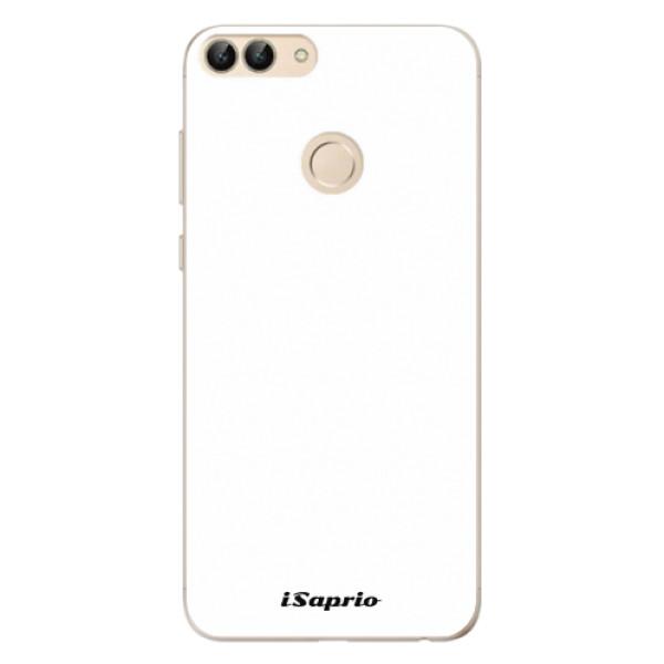 Odolné silikonové pouzdro iSaprio - 4Pure - bílý - Huawei P Smart