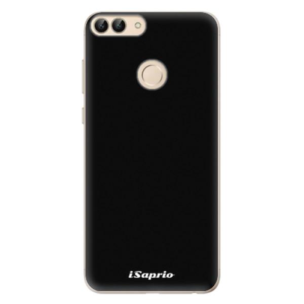 Odolné silikonové pouzdro iSaprio - 4Pure - černý - Huawei P Smart