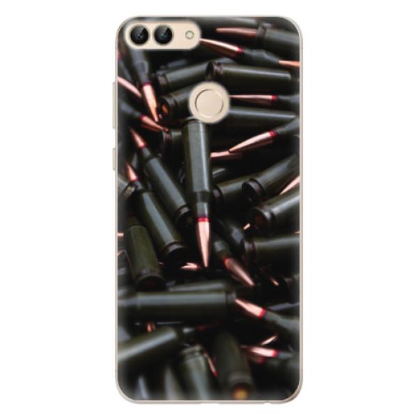 Odolné silikonové pouzdro iSaprio - Black Bullet - Huawei P Smart