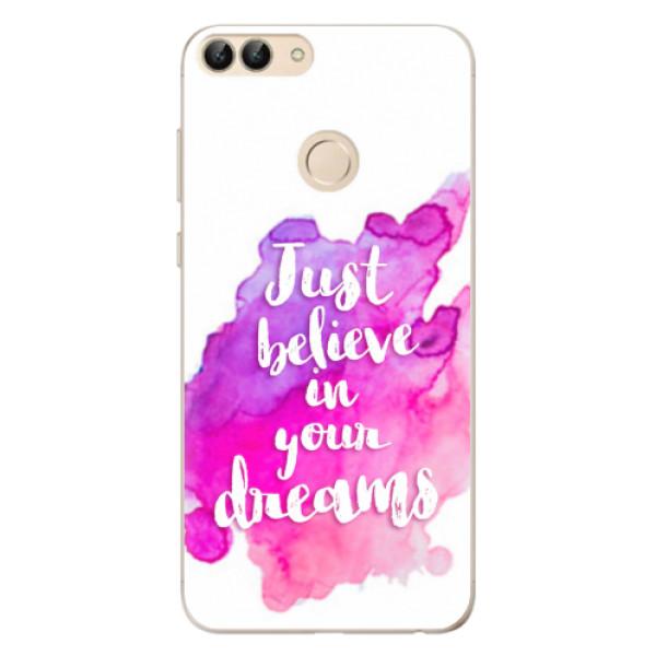 Odolné silikonové pouzdro iSaprio - Believe - Huawei P Smart