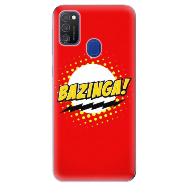 Odolné silikonové pouzdro iSaprio - Bazinga 01 - Samsung Galaxy M21