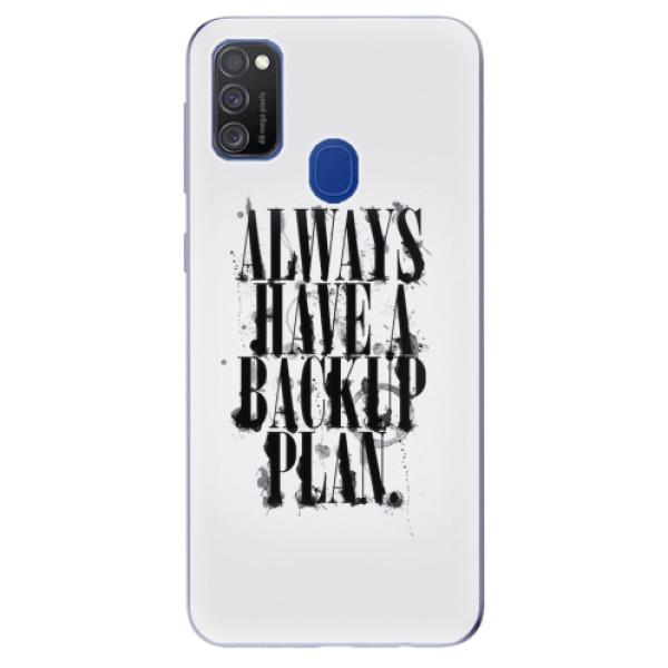 Odolné silikonové pouzdro iSaprio - Backup Plan - Samsung Galaxy M21
