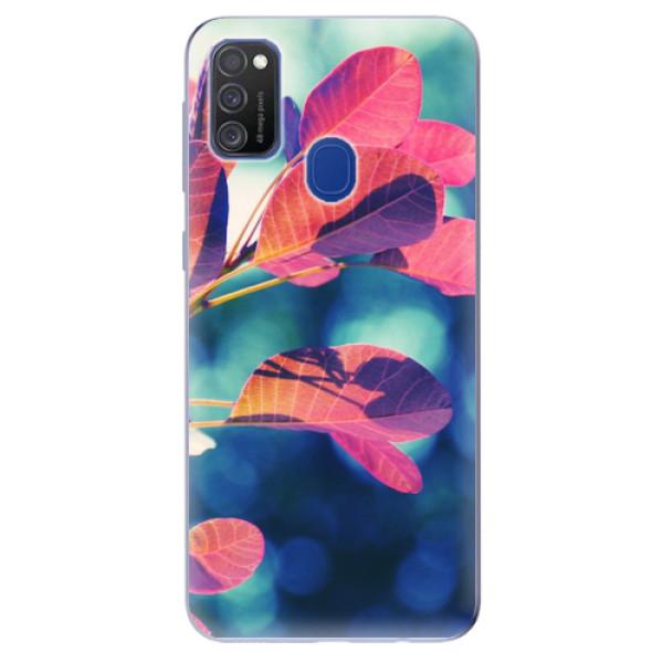 Odolné silikonové pouzdro iSaprio - Autumn 01 - Samsung Galaxy M21