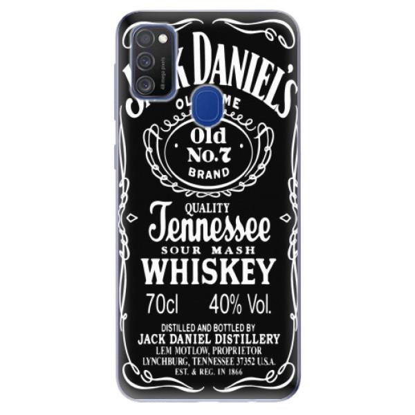 Odolné silikonové pouzdro iSaprio - Jack Daniels - Samsung Galaxy M21
