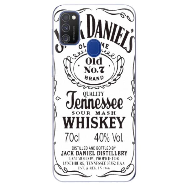 Odolné silikonové pouzdro iSaprio - Jack White - Samsung Galaxy M21