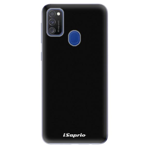 Odolné silikonové pouzdro iSaprio - 4Pure - černý - Samsung Galaxy M21