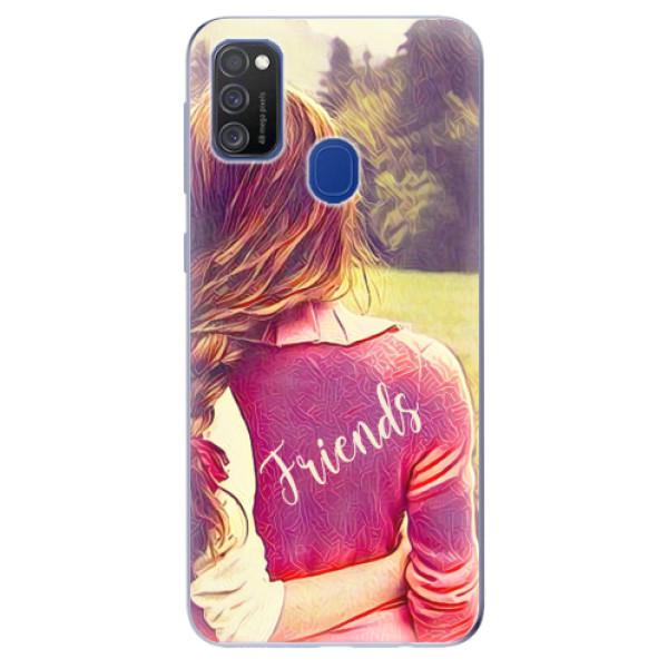 Odolné silikonové pouzdro iSaprio - BF Friends - Samsung Galaxy M21