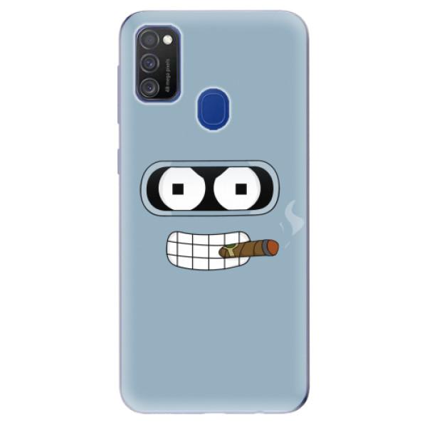 Odolné silikonové pouzdro iSaprio - Bender - Samsung Galaxy M21