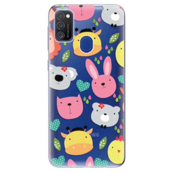 Odolné silikonové pouzdro iSaprio - Animals 01 - Samsung Galaxy M21