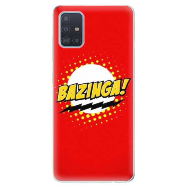 Odolné silikonové pouzdro iSaprio - Bazinga 01 - Samsung Galaxy A51