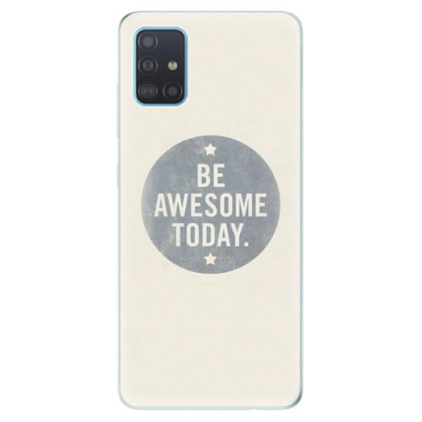 Odolné silikonové pouzdro iSaprio - Awesome 02 - Samsung Galaxy A51