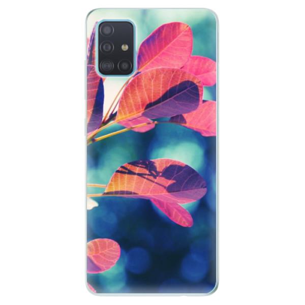 Odolné silikonové pouzdro iSaprio - Autumn 01 - Samsung Galaxy A51