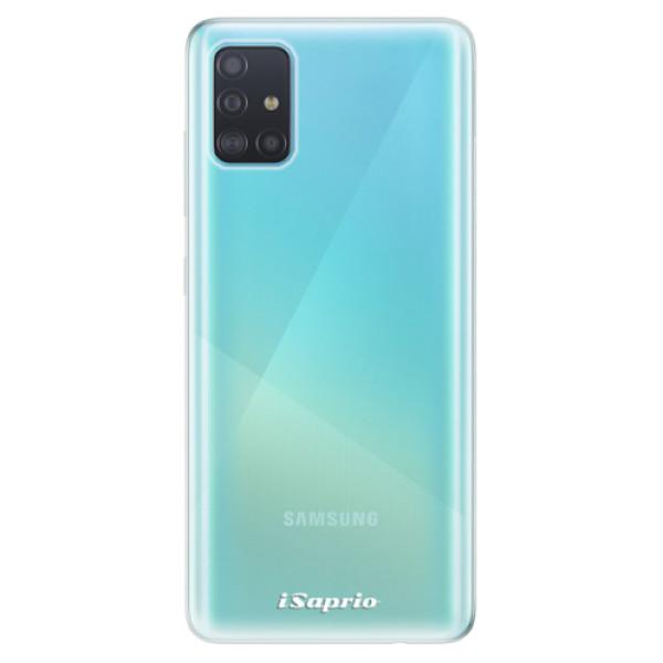 Odolné silikonové pouzdro iSaprio - 4Pure - mléčný bez potisku - Samsung Galaxy A51