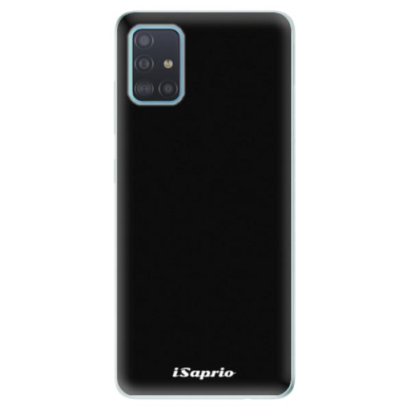 Odolné silikonové pouzdro iSaprio - 4Pure - černý - Samsung Galaxy A51