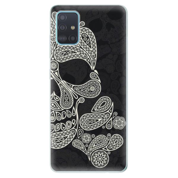 Odolné silikonové pouzdro iSaprio - Mayan Skull - Samsung Galaxy A51
