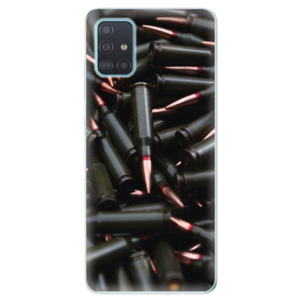 Odolné silikonové pouzdro iSaprio - Black Bullet - Samsung Galaxy A51