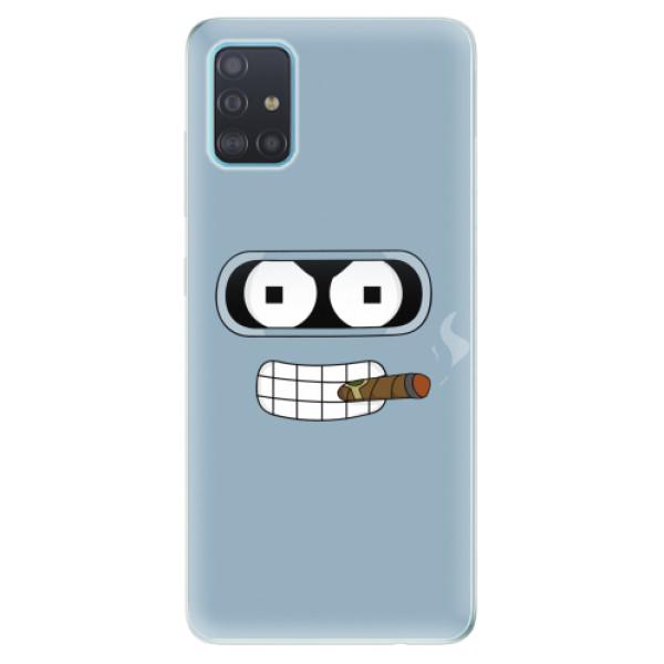 Odolné silikonové pouzdro iSaprio - Bender - Samsung Galaxy A51