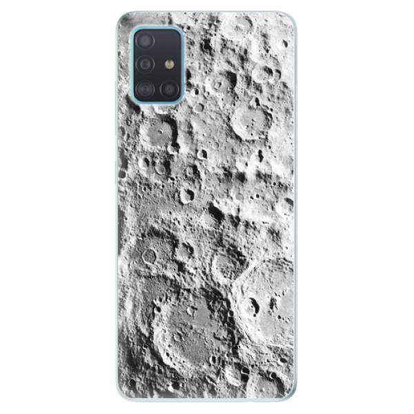 Odolné silikonové pouzdro iSaprio - Moon Surface - Samsung Galaxy A51