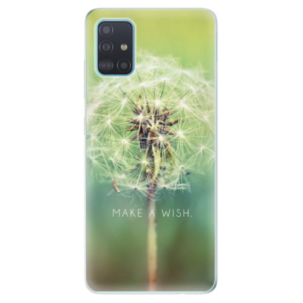 Odolné silikonové pouzdro iSaprio - Wish - Samsung Galaxy A51