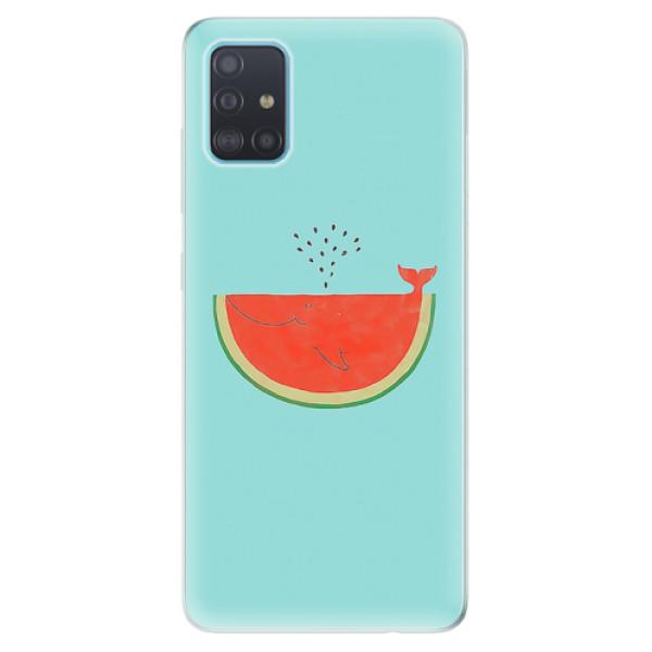 Odolné silikonové pouzdro iSaprio - Melon - Samsung Galaxy A51