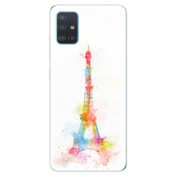 Odolné silikonové pouzdro iSaprio - Eiffel Tower - Samsung Galaxy A51