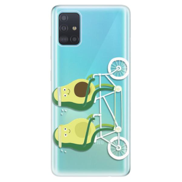 Odolné silikonové pouzdro iSaprio - Avocado - Samsung Galaxy A51