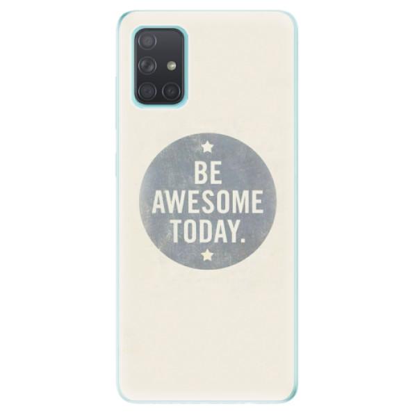 Odolné silikonové pouzdro iSaprio - Awesome 02 - Samsung Galaxy A71
