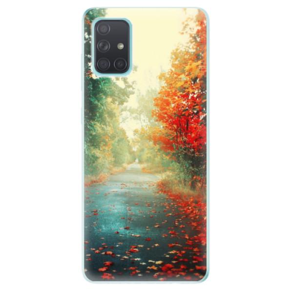 Odolné silikonové pouzdro iSaprio - Autumn 03 - Samsung Galaxy A71