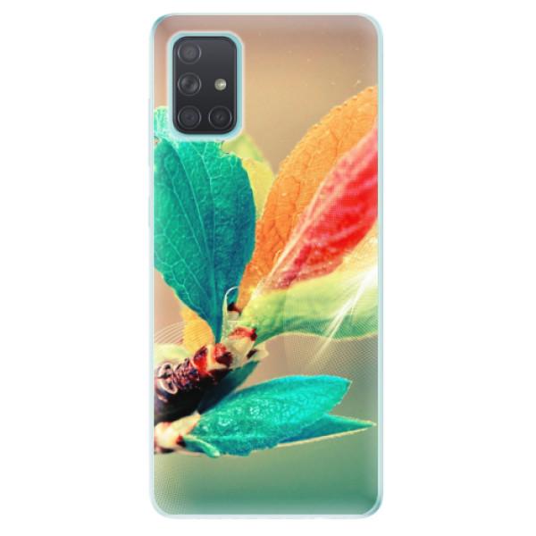 Odolné silikonové pouzdro iSaprio - Autumn 02 - Samsung Galaxy A71