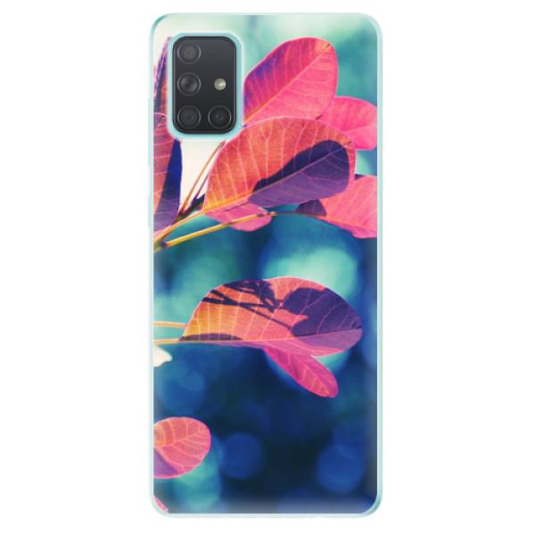 Odolné silikonové pouzdro iSaprio - Autumn 01 - Samsung Galaxy A71