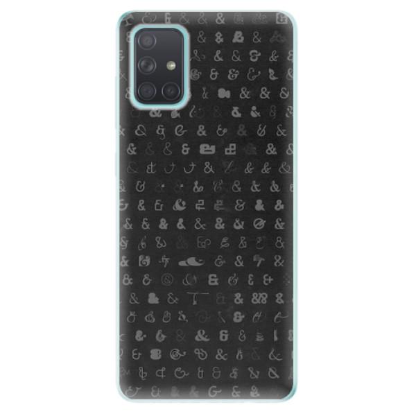 Odolné silikonové pouzdro iSaprio - Ampersand 01 - Samsung Galaxy A71