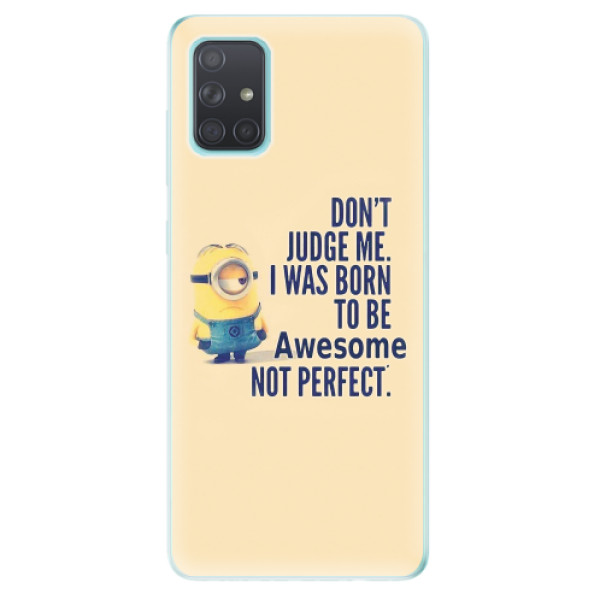 Odolné silikonové pouzdro iSaprio - Be Awesome - Samsung Galaxy A71