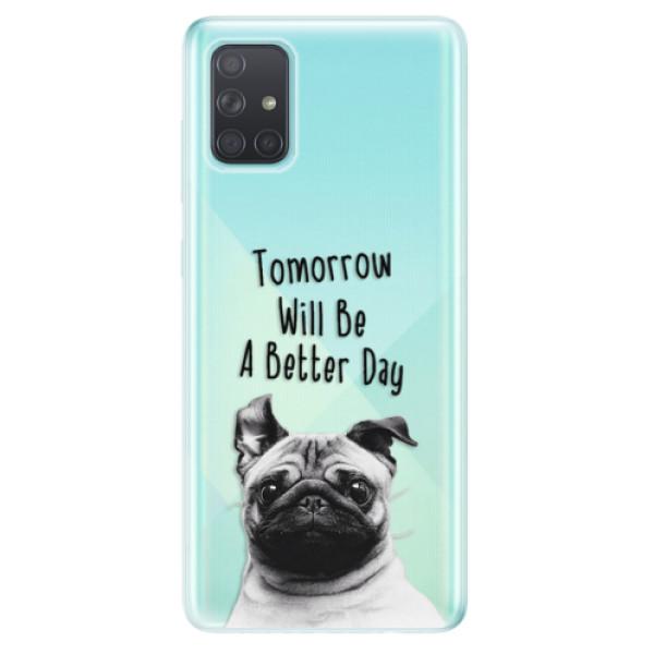 Odolné silikonové pouzdro iSaprio - Better Day 01 - Samsung Galaxy A71