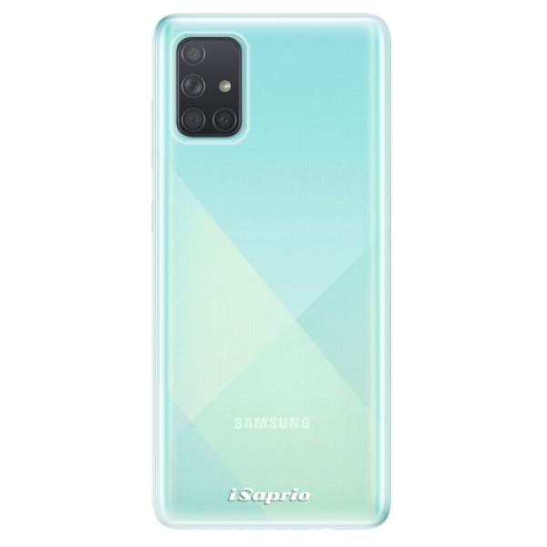 Odolné silikonové pouzdro iSaprio - 4Pure - mléčný bez potisku - Samsung Galaxy A71