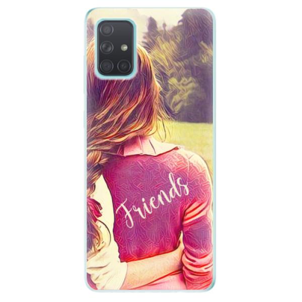 Odolné silikonové pouzdro iSaprio - BF Friends - Samsung Galaxy A71