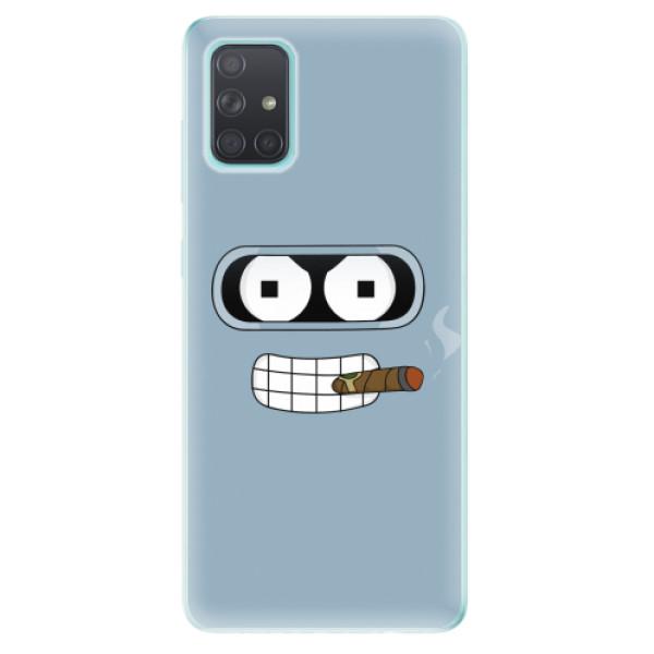 Odolné silikonové pouzdro iSaprio - Bender - Samsung Galaxy A71