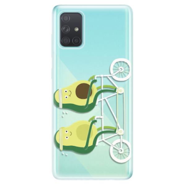 Odolné silikonové pouzdro iSaprio - Avocado - Samsung Galaxy A71