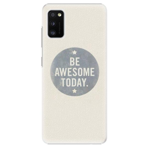 Plastové pouzdro iSaprio - Awesome 02 - Samsung Galaxy A41