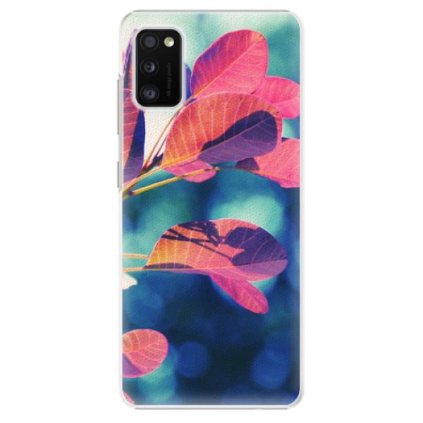 Plastové pouzdro iSaprio - Autumn 01 - Samsung Galaxy A41
