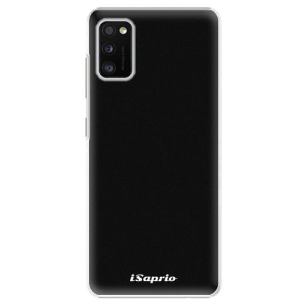 Plastové pouzdro iSaprio - 4Pure - černý - Samsung Galaxy A41