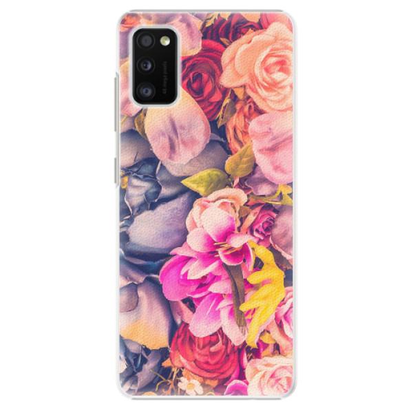 Plastové pouzdro iSaprio - Beauty Flowers - Samsung Galaxy A41