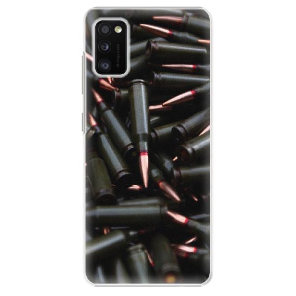 Plastové pouzdro iSaprio - Black Bullet - Samsung Galaxy A41