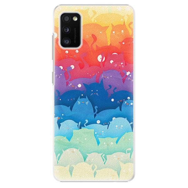 Plastové pouzdro iSaprio - Cats World - Samsung Galaxy A41