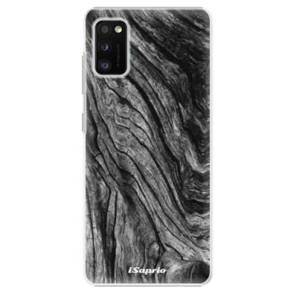 Plastové pouzdro iSaprio - Burned Wood - Samsung Galaxy A41