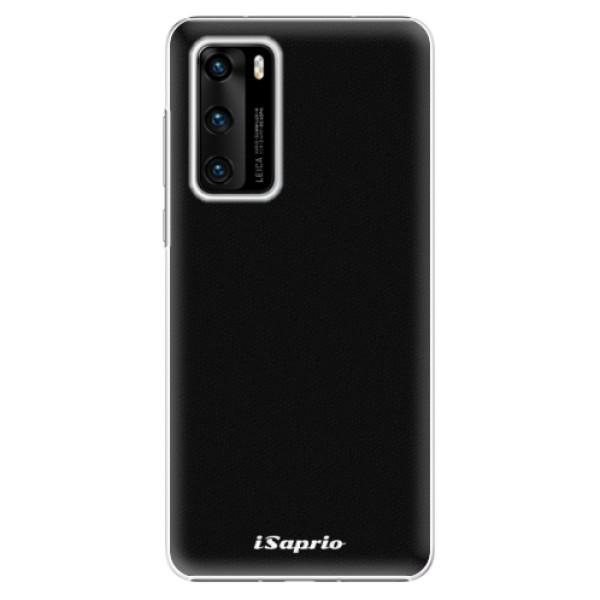Plastové pouzdro iSaprio - 4Pure - černý - Huawei P40