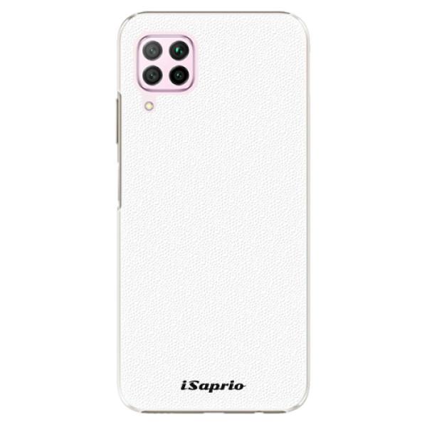 Plastové pouzdro iSaprio - 4Pure - bílý - Huawei P40 Lite