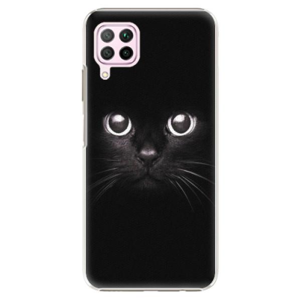 Plastové pouzdro iSaprio - Black Cat - Huawei P40 Lite